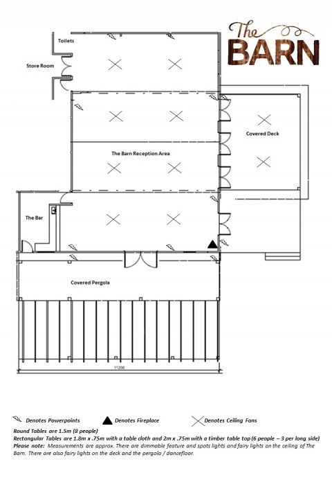The Barn 2020 Blank Floorplan